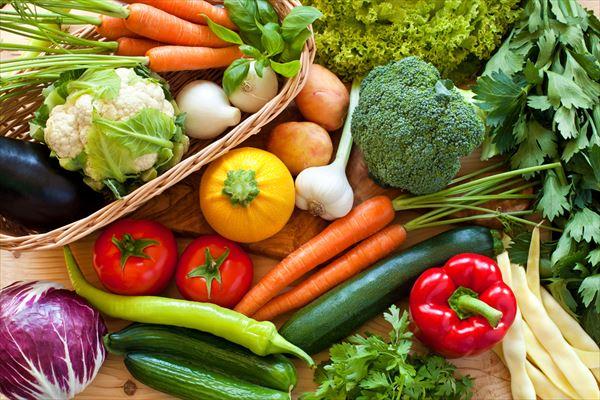 とにかく野菜を摂りましょう